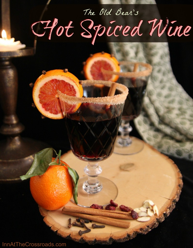 The Old Bear's Hot Spiced Wine