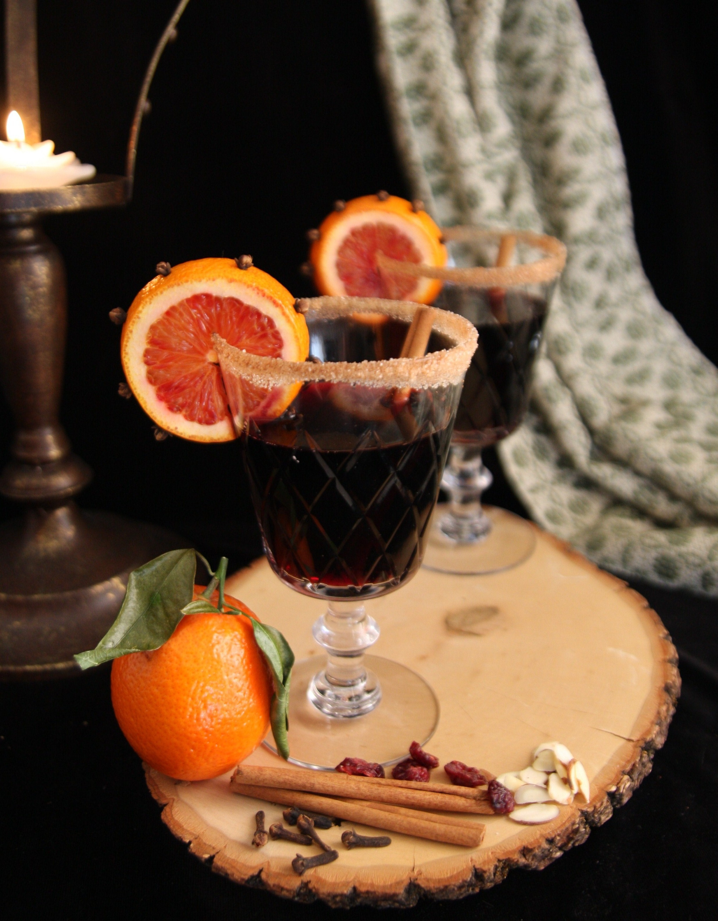 wine with mulled wine with oranges key ingredients wine warm wine ...