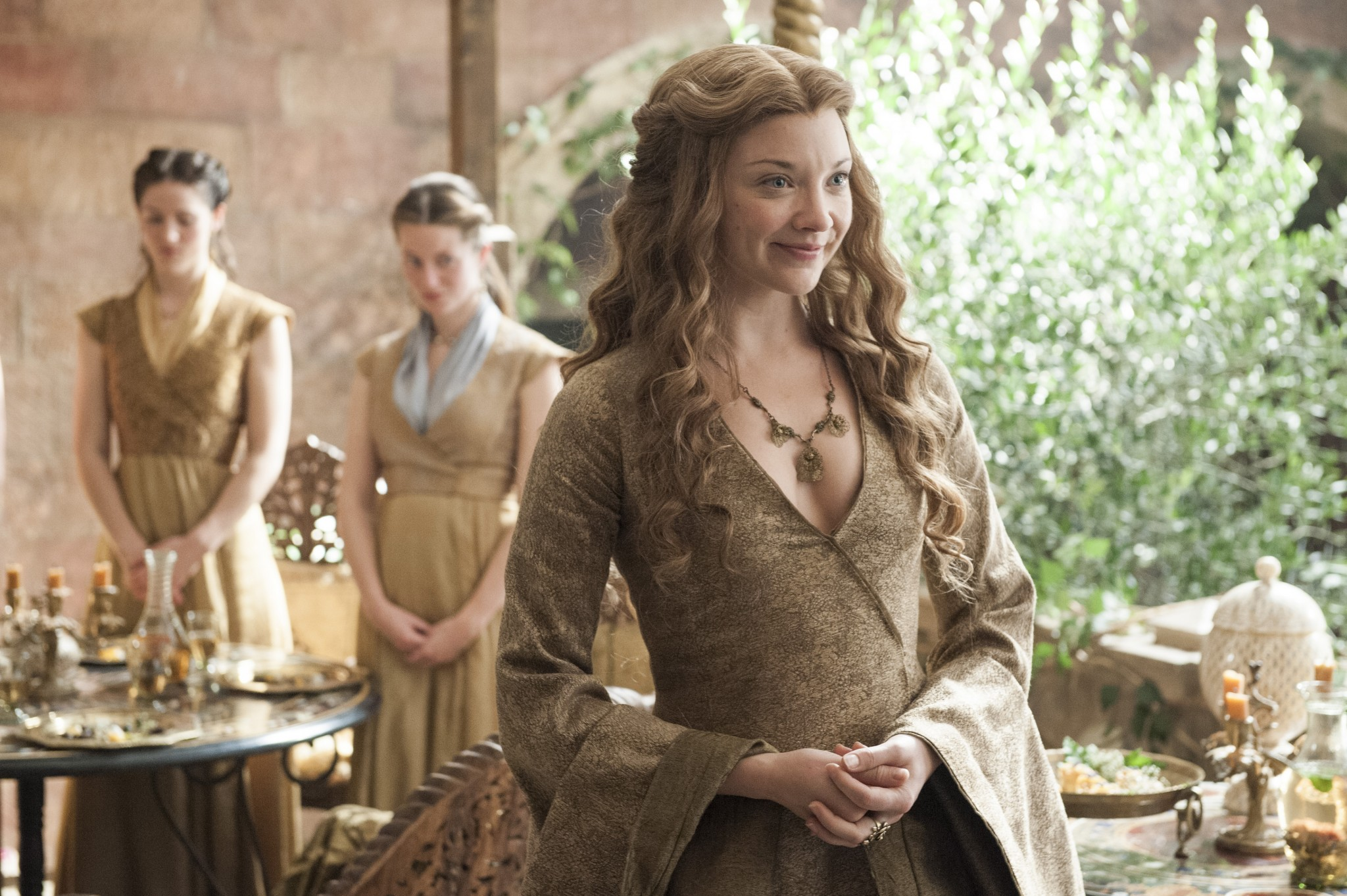 Margaery Tyrell was a gem. She was as manipulative and cunning as Cersei ever was, but she was nice about it, which makes her a true rarity and a character I personally really respect. I've gotten into full blown debates over this girl and I'm actually grieving for her loss right now.
